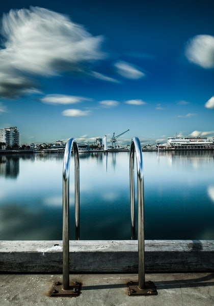 (CreativeWork) Princes Pier, Port Melbourne by Piers Buxton. photograph. Shop online at Bluethumb.