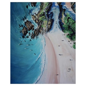 (CreativeWork) The Pass by Bonnie Larden. arcylic-painting. Shop online at Bluethumb.