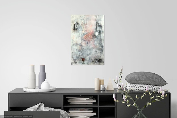 (CreativeWork) The Flush by Louise Croese. #<Filter:0x00007f0808f68ee0>. Shop online at Bluethumb.