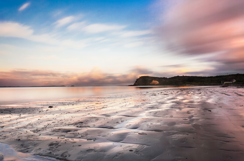 (CreativeWork) Flinders twilight by Piers Buxton. photograph. Shop online at Bluethumb.
