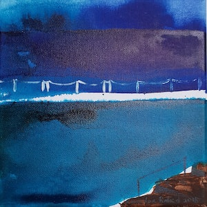 (CreativeWork) Mahon Pool by Jennifer Baird. arcylic-painting. Shop online at Bluethumb.