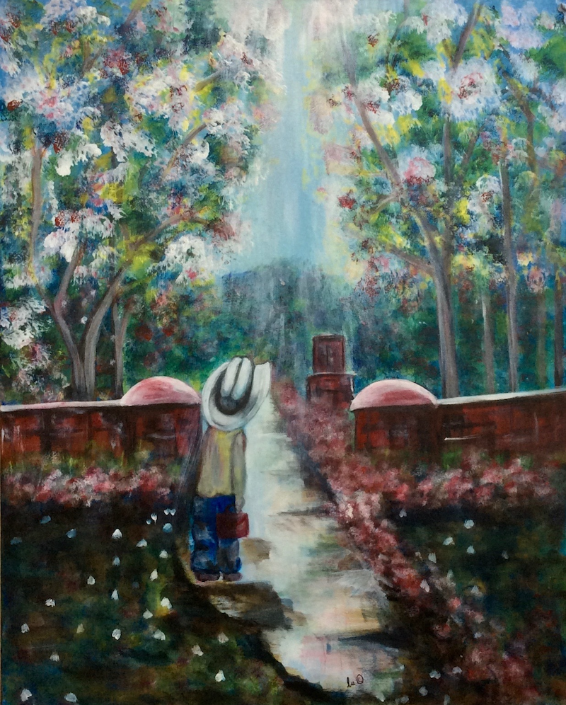 (CreativeWork) A New Road (Tolkein) by Louise Croese. #<Filter:0x00007f607d59e860>. Shop online at Bluethumb.