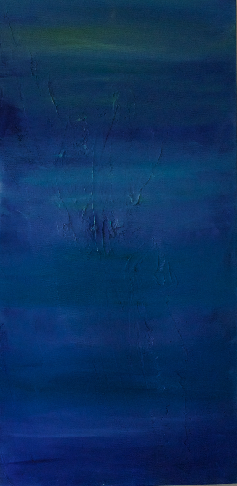 (CreativeWork) WATER BLUE by Olivia Holtz. acrylic-painting. Shop online at Bluethumb.