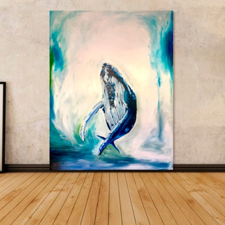 (CreativeWork) The Dancer by Silvia Rubboli Golf. Oil Paint. Shop online at Bluethumb.