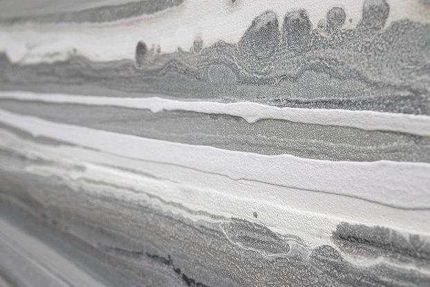 (CreativeWork) Ashore - Very large, textured, neutral painting by Stephanie Laine Pickering. #<Filter:0x0000558932a2b0a0>. Shop online at Bluethumb.