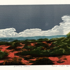 (CreativeWork) Passing storm Ed. 1 of 1 by Tina Moore. print. Shop online at Bluethumb.