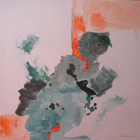 (CreativeWork) our breaking earth 01 by Peter Shanahan. Acrylic Paint. Shop online at Bluethumb.