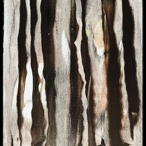 (CreativeWork) Tree Markings by kelly mathews. arcylic-painting. Shop online at Bluethumb.