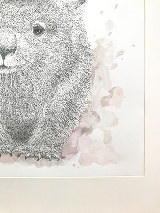 (CreativeWork) Dust Pig by Jess Black. Mixed Media. Shop online at Bluethumb.