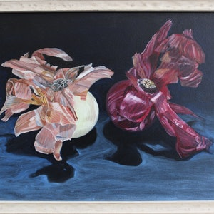 (CreativeWork) Beauty Contest by Tia Terry. oil-painting. Shop online at Bluethumb.