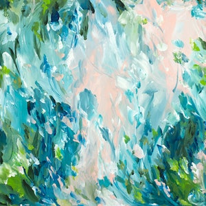 (CreativeWork) What Lies Beneath by Amber Gittins. arcylic-painting. Shop online at Bluethumb.