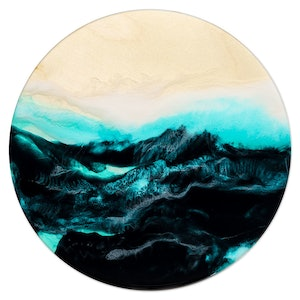 "(CreativeWork) ""Jasper Reef"" by Belinda Doyle. resin. Shop online at Bluethumb."