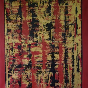 (CreativeWork) Oriental by Ric Connors. arcylic-painting. Shop online at Bluethumb.