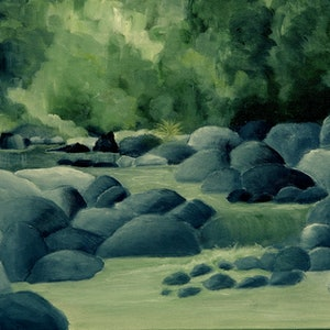 (CreativeWork) Another World by Doodie Herman. arcylic-painting. Shop online at Bluethumb.