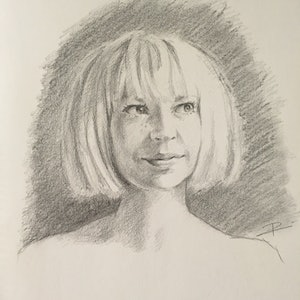 (CreativeWork) PROTAGONISTA #4 feat. SIA by Rosa Fedele. drawing. Shop online at Bluethumb.