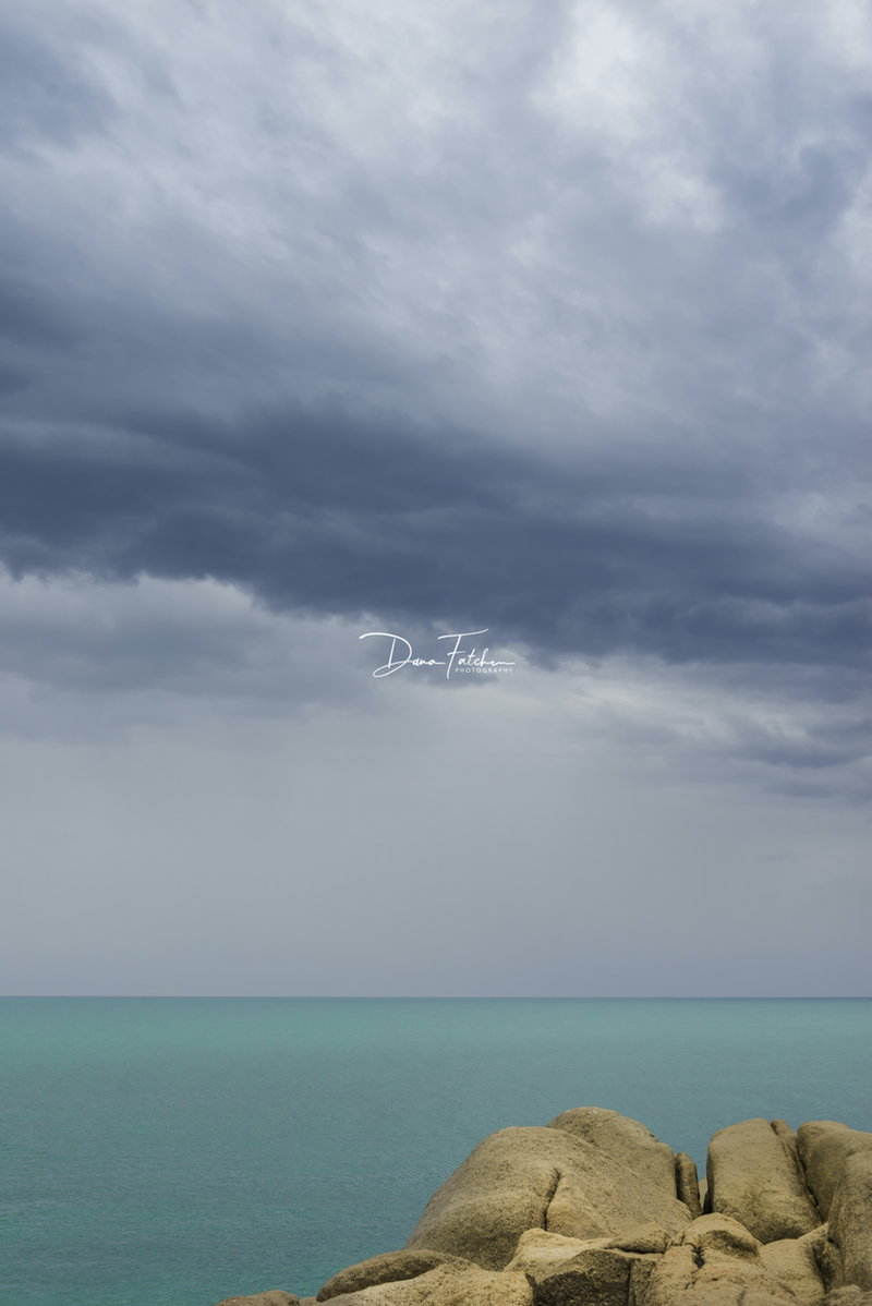 (CreativeWork) Over looking Green Bay, Port Elliot by Dana Fatchen. photograph. Shop online at Bluethumb.