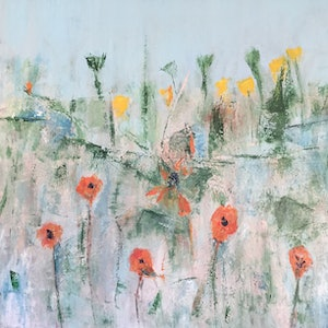 (CreativeWork) Just over it's best .......... by Patricia Galloway. arcylic-painting. Shop online at Bluethumb.