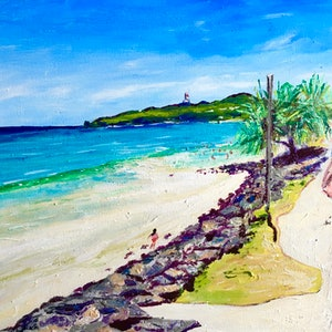 (CreativeWork) Byron Summer by Gillian Fahey. arcylic-painting. Shop online at Bluethumb.