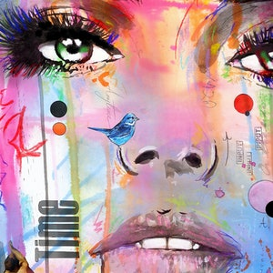 (CreativeWork) TIME by loui jover. mixed-media. Shop online at Bluethumb.