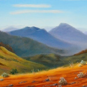 (CreativeWork) Flinders  Landscape by Glenn McLeod Leaity. #<Filter:0x00007f5a0aec4288>. Shop online at Bluethumb.