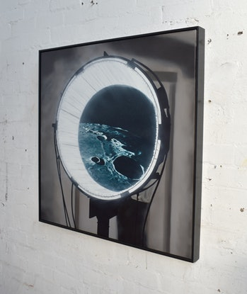 (CreativeWork) Portal by Connor Grogan. Oil. Shop online at Bluethumb.