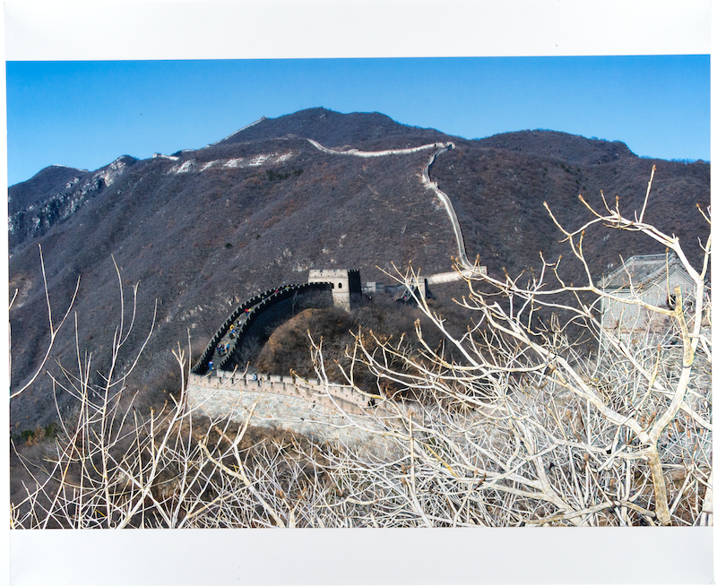 (CreativeWork) A View From the Great Wall by Narelle Cridland. photograph. Shop online at Bluethumb.