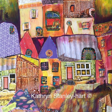 (CreativeWork) Artist Retreat Limited Edition Print Ed. 4 of 100 by Kathryn Stanley-hart. Print. Shop online at Bluethumb.