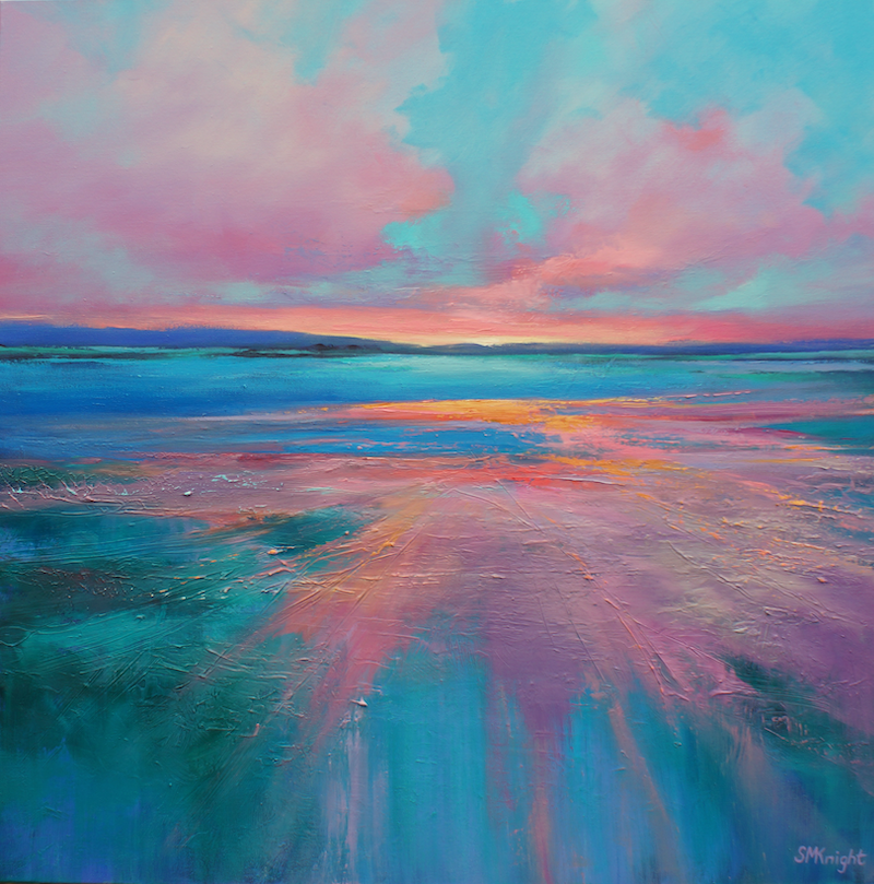 (CreativeWork) TWILIGHT SURRENDER  by Sandra Michele Knight. Oil Paint. Shop online at Bluethumb.