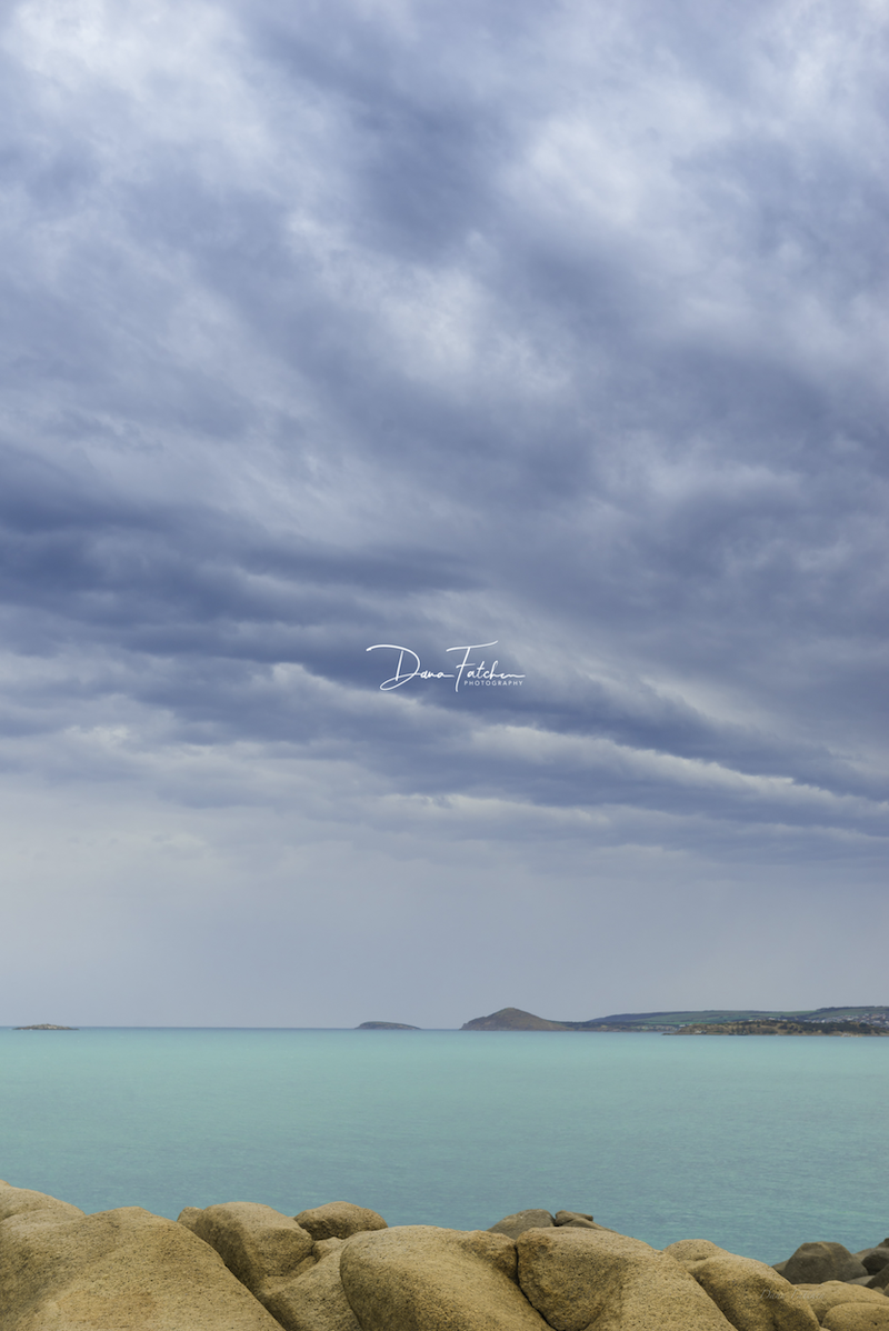 (CreativeWork) Over looking Green Bay, Port Elliot to Victor Harbor by Dana Fatchen. photograph. Shop online at Bluethumb.