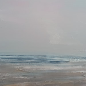(CreativeWork) Grey Day Reef by Andrea Edwards. arcylic-painting. Shop online at Bluethumb.