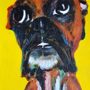 (CreativeWork) Rocco by Ryan Kilbourn. arcylic-painting. Shop online at Bluethumb.