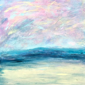 (CreativeWork) Stranded by helene hardy. arcylic-painting. Shop online at Bluethumb.