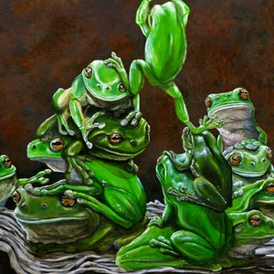 (CreativeWork) The Great Escape  by Fiona Groom. arcylic-painting. Shop online at Bluethumb.