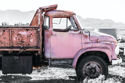 (CreativeWork) Old Pink by Dana Fatchen. photograph. Shop online at Bluethumb.