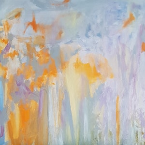 (CreativeWork) Spring storm  by Vanessa Whittington. arcylic-painting. Shop online at Bluethumb.