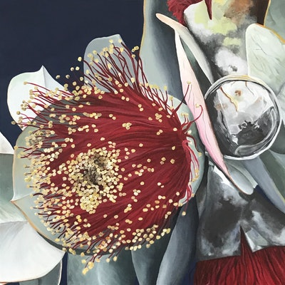 (CreativeWork) Intrinsic Beauty - Framed Original by Hayley Kruger. acrylic-painting. Shop online at Bluethumb.