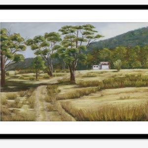 (CreativeWork) Twamley Farm, Bucklands by Kathleen Pieterse. other-media. Shop online at Bluethumb.