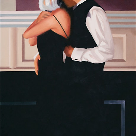 """(CreativeWork)  """"Intimate"""" by Raynette Mitchell. Oil. Shop online at Bluethumb."""