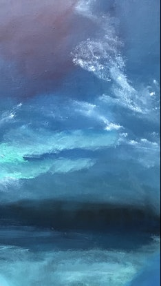 (CreativeWork) Night Falls by Tracey Berthold. Oil Paint. Shop online at Bluethumb.