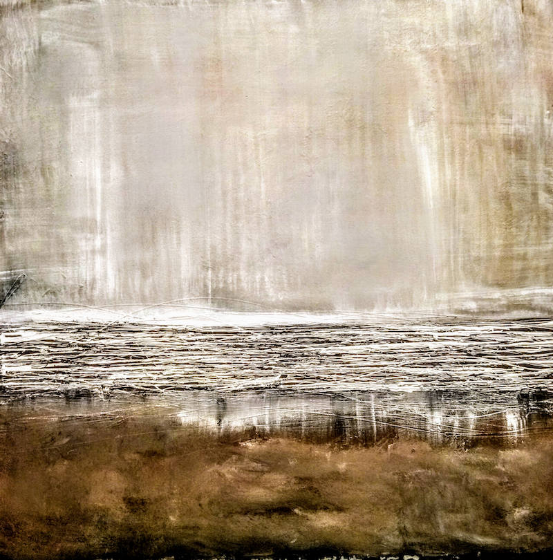 (CreativeWork) Deludge by Josephine Ann Pitsiava. arcylic-painting. Shop online at Bluethumb.