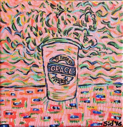 (CreativeWork) Grace' by Sidney Sprague. arcylic-painting. Shop online at Bluethumb.