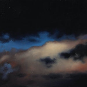 (CreativeWork) Inky Skies by James Walker. oil-painting. Shop online at Bluethumb.