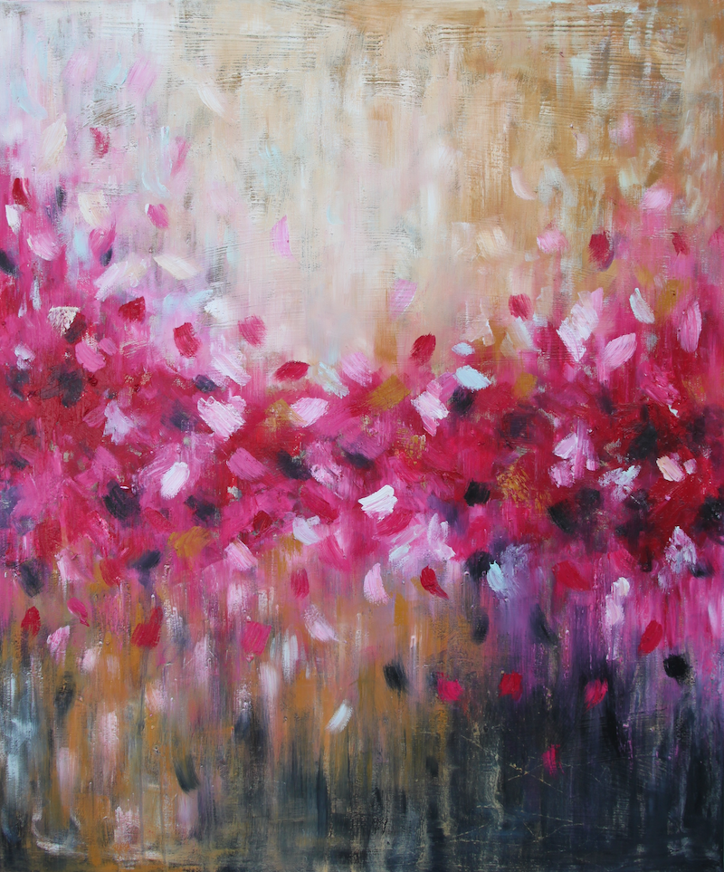 (CreativeWork) Warm My Soul by Belinda Nadwie. oil-painting. Shop online at Bluethumb.