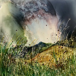 (CreativeWork) Windy Weather by Meg Lewer. other-media. Shop online at Bluethumb.