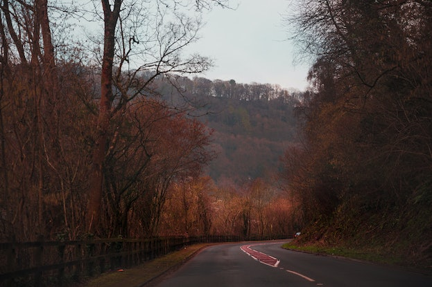 (CreativeWork) Red Road Ed. 1 of 20 by Megan George. Photograph. Shop online at Bluethumb.