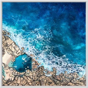 (CreativeWork) MAIDENS COVE by Vanessa Mae. mixed-media. Shop online at Bluethumb.