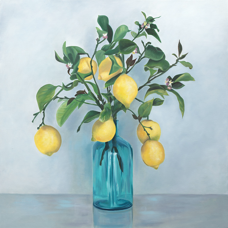 (CreativeWork) When Life Gives You Lemons Ed. 1 of 150 by Mia Laing. Print. Shop online at Bluethumb.