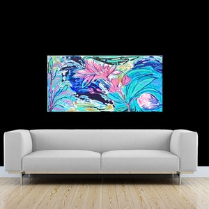 (CreativeWork) Untamed by Myra Carter. arcylic-painting. Shop online at Bluethumb.