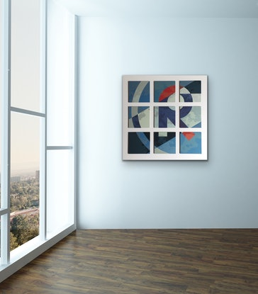 (CreativeWork) 'R' by Letter allsorts. Acrylic Paint. Shop online at Bluethumb.