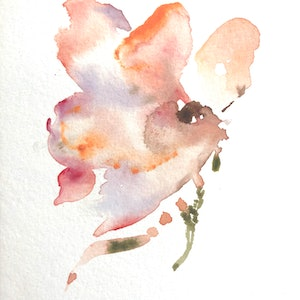 (CreativeWork) Fragile (1) by Annie Hawkins. watercolour. Shop online at Bluethumb.